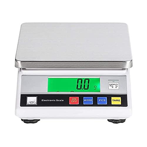 WZ 1g/ 0,1g/ 0,01g Balanza Laboratorio Báscula Analítica Precisión Laboratorio Joyería Cocina Báscula Escala Gramo Batería Recargable (Size : 1kg/0.01g)