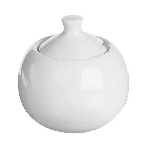 Excèlsa Home-Pot à Sucre-Blanc - 9 Cm