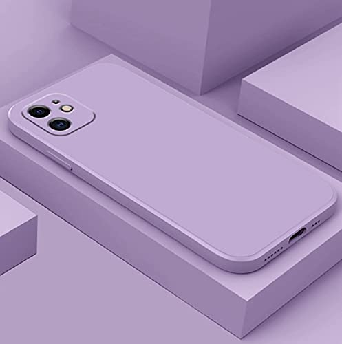 LONGSAND Compatible con Huawei P50 / P50 PTS Phone Shell Silicone Teléfono Teléfono Moderno Simple Color Sólido Cubierta Protectora para Mujer para Mujer,E,P50
