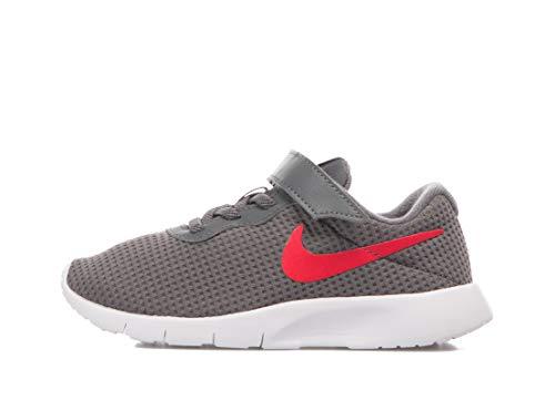 Nike Tanjun (PSV), Zapatillas de Deporte Niño, Multicolor (Dark Grey/University Red/White 020), 31.5 EU