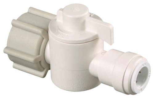 WATTS BRASS & TUBULAR - Straight Stop Valve, 1/2 x 1/4-In, Quick Connect