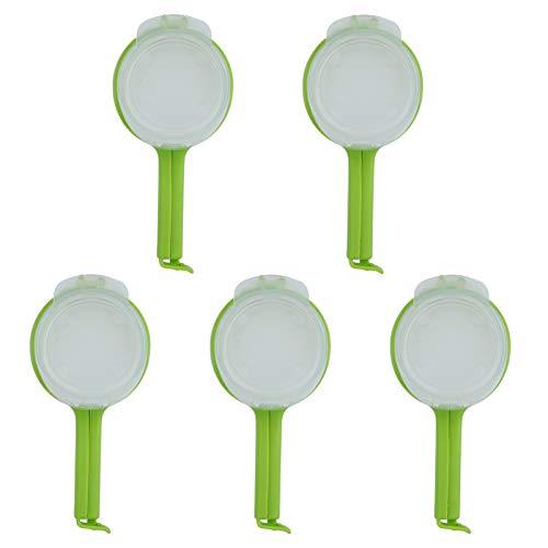 Clip sigillante-5 pezzi Clip sigillante per alimenti in plastica riutilizzabile con beccucci per la conservazione degli utensili da cucina per alimenti