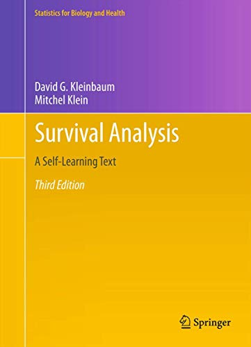 Survival Analysis: A Self-Learning Text, Third Edition...