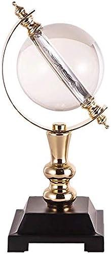 Liuzecai P gogischer Swivel Globeer Für Erwachsene Durchmesser 16cm Home Desk Dekorationen Rotation Interaktive P gogische Swivel Desktop Globe Geschenk (Farbe   Gold, Größe   Free Größe)