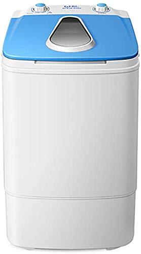 lavasciuga uv Mini Lavatrice con Risparmio di Spazio Rotante Circolazione Carrello 3.8KG / 8.4Lbs Lavaggio Importo Blu-Ray UV Antibatterico Energia