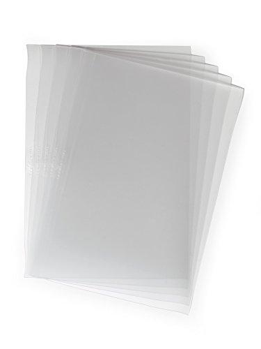 Durable 294319 Klemmschienen-Einbanddeckel, farblos, Packung à 100 Stück