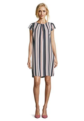 Betty Barclay Damen Cilia 1 Kleid, Blau (Stone-Dark Blue 9888), (Herstellergröße: 44)