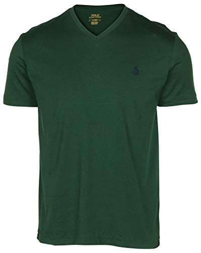 Polo RL Men's Classic Fit V-Neck T-Shirt-NW Pine-Small