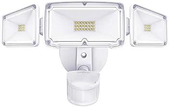 Amico Triple-Head LED Motion Sensor Security Light
