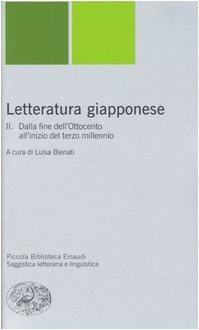 Letteratura giapponese. Dalla fine del'Ottocento all'inizio del terzo millennio (Vol. 2)
