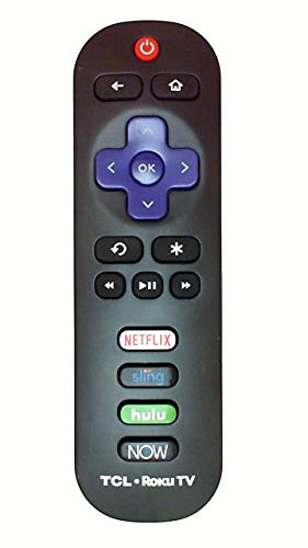 New Remote ROKU TCL RC280 for Model Numbers: 28S3750 32S3750 32S800 32S850 32S3850 40FS3750 40FS3800 40FS3850 48FS3750 50FS3750 50FS3800 50FS3850 55FS3850 RC280 JNIL