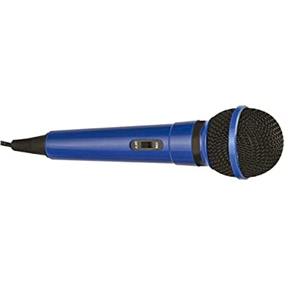 mr entertainer G156DB Dynamic Handheld Karaoke Microphone - Blue