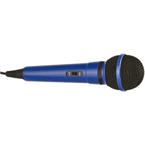 Azul Micrófono De Karaoke 1 Paquete/S