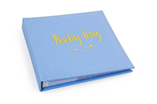 Goud Script Baby Jongen Fotoalbum 4x6''