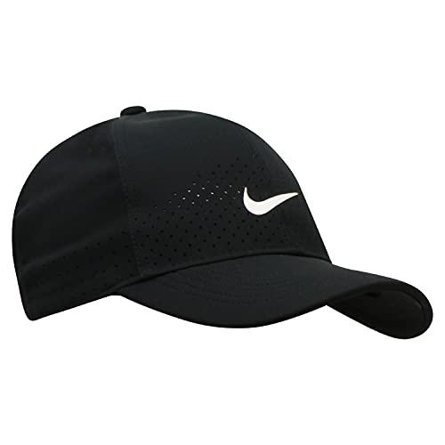 Nike U NK AROBILL L91 cap, Cappellino Unisex - Adulto, Black/White, Taglia Unica