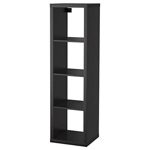 IKEA KALLAX Shelf, Black-Brown