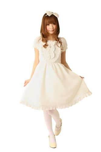 Cream doll jumper skirt (marshmallow milk) (japan import)