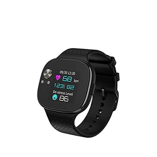 Asus Smartwatch VivoWatch BP, Frequenza e Pressione cardiaca, Accellerometro e GPS integrato, qualità del sonno e livello di Stress, autonomia batteria fino a 15 Giorni, Bluetooth, Android e iOS