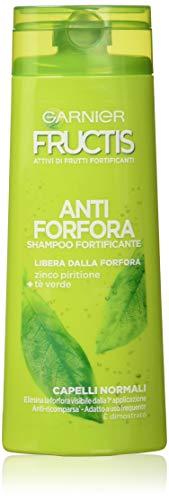 Garnier Champú Fructis anticaspa para cabello normal, 250 ml, paquete de 12