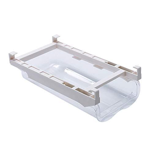 Organizador de cajones de frigorífico Contenedores organizadores de frigoríficos extraíbles con asa Soporte para estante de nevera Caja de almacenamiento Contenedor transparente para alimentos y bebid