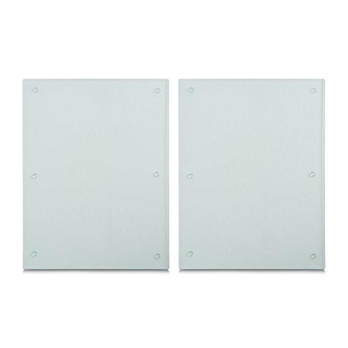 Zeller 26322 Herdabdeck-/Schneideplatten, Weiß
