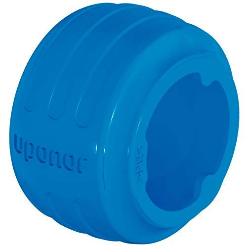 Anillo Q&E Evolution blue de 25 milímetros, forma cónica para facilitar la inserción al tubo, topes reforzados, diseño ergonómico con identificador de dimensiones, color azul (referencia 1058015)