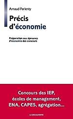 Précis d'économie d'Arnaud PARIENTY