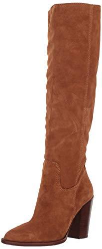 Dolce Vita Women's Kylar Knee High Boot, Brown Suede, 7 M US