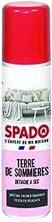 SPADO - Détachant Textiles - Terre de Sommières - Détachant Naturel à Sec - Spécial Tâches Grasses - Aérosol 400 ml