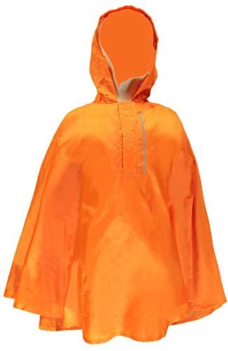 NAME IT Kinder Regenponcho Fahrrad-Regenumhang nknRAINCOVER (Orange