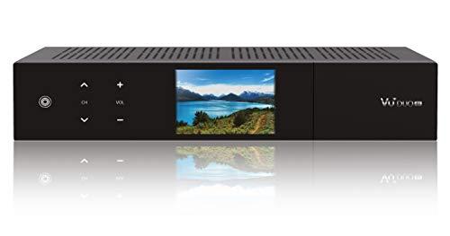 VU+ Duo 4K 2x DVB-C FBC Tuner PVR ready Linux Receiver (UHD 2160p) Schwarz