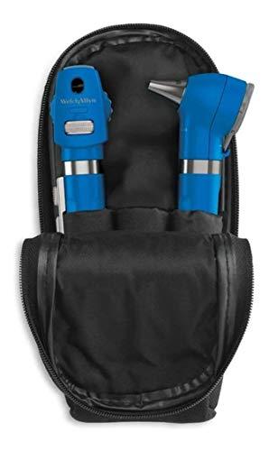 Kit Otoscópio E Oftalmoscópio Pocket Plus Led Welch Allyn (Azul)
