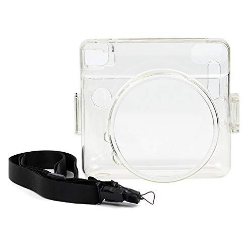 Haodene PVC Transparente Funda de protección para Fujifilm Instax Square SQ6Cámara con Bandolera