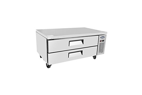 Atosa 48' Commercial 2 Drawer Refrigerated Chef Base MGF8450