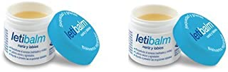 2 x Letibalm Balsamo Naso / Labbra - Ripara, Idrata, Protegge 10 ml