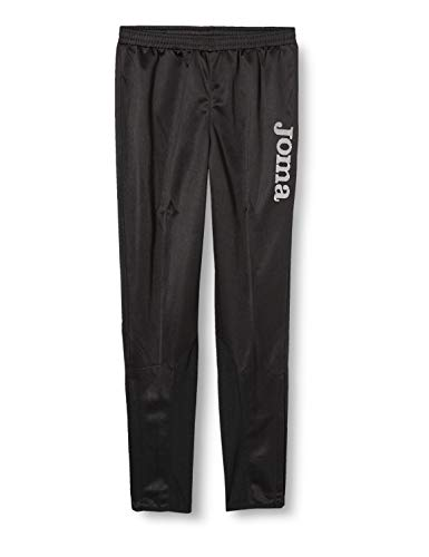 Joma Gladiator - Pantalón largo brillante para hombre, color Negro, M
