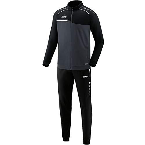 JAKO Herren Competition 2.0 Trainingsanzug Polyester, anthrazit/Schwarz, S