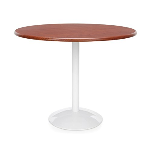 "OFM Orbit Round Dining Table, Modern Side Tables, 23"" Height, 36"" Length, 36"" Width, Cherry"
