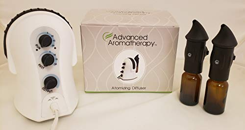 Advanced Aromatherapy™ Essential Oil Atomizing Diffuser 110V US (Black)