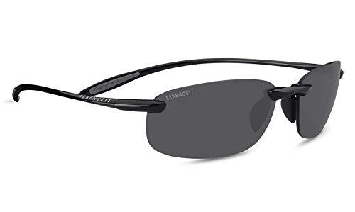 SERENGETI Nuvola Gafas, Unisex Adulto, Shiny Black, M