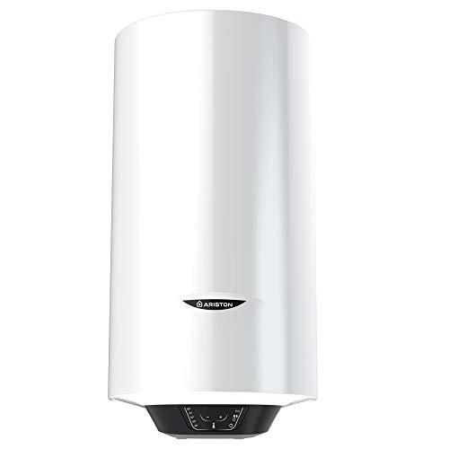 Ariston - Termo 50 litros Pro1 Eco Dry Multiposicion (2x900w) - Calderin Esmaltado al Titanio - 5 Anos Garantia