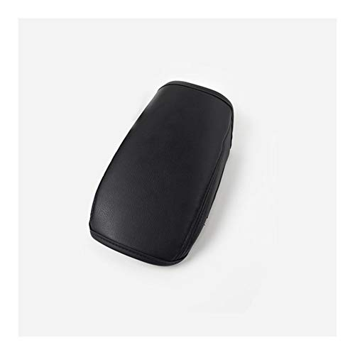 ZHIXIANG Fit For Volkswagen VW Tiguan Mk2 2016-2018 2019 2020 Armrest Console Pad Cover Cushion Support Box Armrest Top Mat Liner Car Styling (Color Name : Black line)