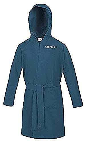 Speedo Microfiber Albornoz, Unisex adulto, Azul (Marine), 10