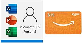 Microsoft 365 Personal 12 month auto-renewing subscription Bundle