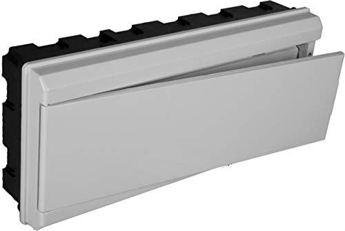 Solera 880CB - Conjunto de caja, tapa, marco y puerta blanco.Para cajas...