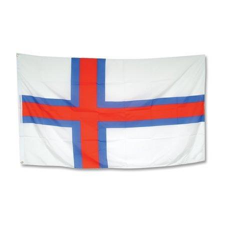 Flagge Färöer-Inseln - 90 x 150 cm