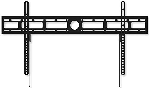 Techly 022656 Supporto a Muro per TV LED LCD 42-80  Ultra Slim Fisso H400mm Nero