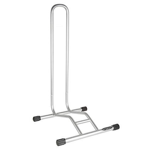 Willworx Unisex– Erwachsene Superstand Extreme Fahrradhalter, Silber, 41x39x78,5 cm (LxBxH)