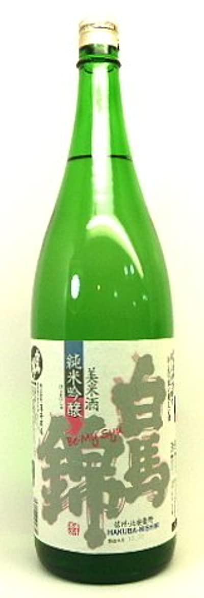 無効にする引用実質的に白馬錦 純米吟醸 美米酒 びまいしゅ 1800ml 薄井商店 【 信州長野の地酒 】