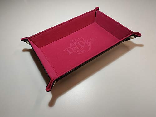 DnDice Foldable Dice Tray (Pink)
